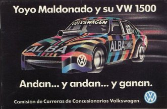 Advert for Avenger based VW1500.